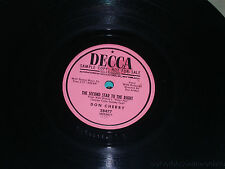 """DON CHERRY Second Star To The Right/ How Long PROMO 10"""" 78 Decca 28477"""