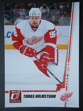 NHL 128 Tomas Holstrom Detroit Red Wings Donruss 2010/11