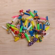 30Pcs Blowers Blowouts Whistles Birthday Noisemaker Kid Toy Party Supplies