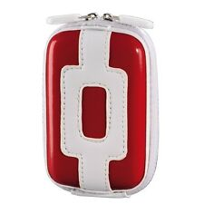 Hama Kameratasche Hardcase Candy 60 H, Rot / Weiß 103823