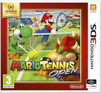 MARIO TENNIS OPEN NINTENDO SELECTS 3DS 2DS BRAND NEW AND SEALED