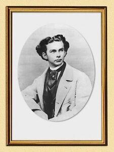 King Ludwig II Portrait Kingdom Of Bavaria K&k Albert A3 Ludwig 02 Frame