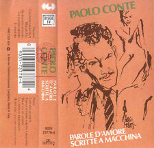 Paolo Conte - Parole D'Amore Scritte A Macchina  (Cassette)