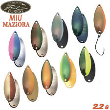 Forest Miu Maziora 2.2 g 26 mm trout spoon various color