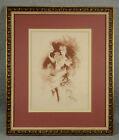 "Antique JULES CHERET French Lithograph ""Comedie"" from Maitres de l'Affiche"