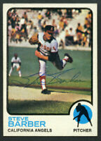 Steve Barber #36 signed autograph auto 1973 Topps Baseball Trading Card