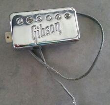 1971 Vtg Gibson Logo Patent # PAF T Top Humbucker Pickup Original SG Neck Part!