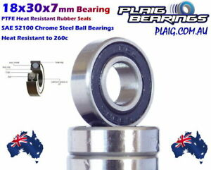 18x30x7mm Bearings 18307-2RS High Quality Precision Bearings - Aussie Stock