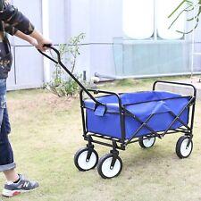 Bollerwagen Faltbar Handwagen Transportwagen Gerätewagen Klappbar Gartenwagen