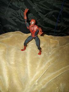 "Super Poseable Spiderman 2 Movie Vintage 6"" Action Figure 2003 Marvel Legends"