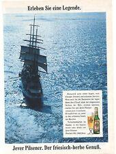 KONVOLUT - Historische Reklame - vintage adverts -  JEVER Pilsener -  Annoncen