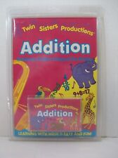 Twin Sisters Productions Addition Math Cassette Tape & Book Brainbusters