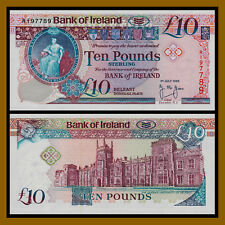 Northern Ireland 10 Pounds, 1995, P-75a Unc