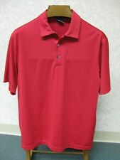 NIKE TIGER WOODS COLLECTION DEEP RED GOLF DRI FIT POLO SHIRT MEN'S SIZE M