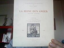 Brun Charles  -   La reine des anges frégate corsaire / orné de bois dessinés et