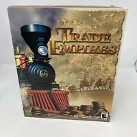 Trade Empires PC Video Game Big Box Sealed Eidos Strategy Game