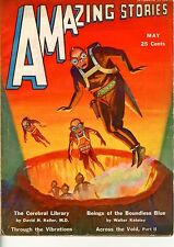 Amazing Stories  Vol 6  #2  Pulp  May 1931   F-  Morey cover, Stone, Keller, Kat