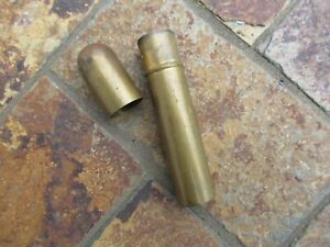 Vintage Brass Matches Holder