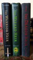 The Heir Chronicles: Warrior, Wizard & Dragon by Cinda Williams Chima (HC, Good)