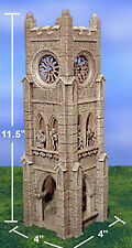 Hirst Arts BELL TOWER Kit boxed, Hydrostone, terrain warhammer D&D pathfinder