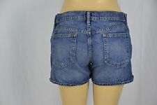 Ralph Lauren Sport Womens 10 Dark Wash Blue Jean Shorts
