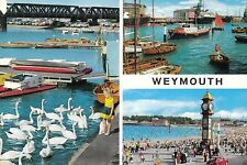 Postcard - Weymouth - 3 views