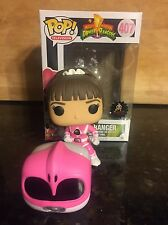 Funko Pop! Pink Ranger Kimberly Hart Power Rangers *Unmasked Ponytail Custom