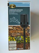 Hampton Bay Black Landscape Speaker Bluetooth Technology Low Voltage System.
