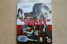 BLU-RAY THE SATANIC RITES OF DRACULA PREMIUM EXCLUSIVE EDITION NEW SEALED STOCK