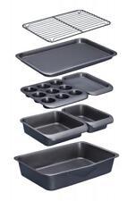 Kitchen Craft MasterClass Stacking Non-Stick Baking Roasting Loaf Tin Tray Set