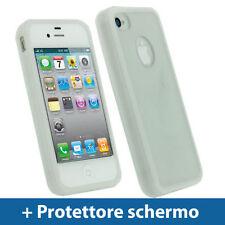 Cover e custodie bianco semplice per iPhone 4