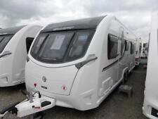 Swift 2 Axles Mobile & Touring Caravans 6 Sleeping Capacity