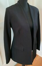 Prestige by Robert Kotas women M fitted sexy black structured riding jacket look