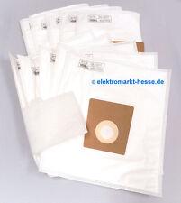 basicXL 10 Micro Fleece Staubsaugerbeutel passend für Bosch/Siemens Größe DEFG-H