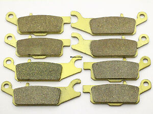 Front Rear Brake Pads For Yamaha Grizzly 700 YFM 700 All Models 2007-2010 Brakes