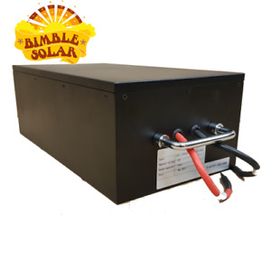 Lithium LiFePO4 12V 100Ah Battery with BMS 1.28Kwhrs