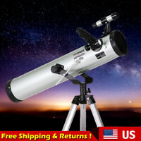 Astronomical Reflector Telescope 76-700mm for Beginners Adults Kids Moon Planets