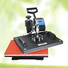 8 in 1 Digital Transfer Sublimation Heat Press Machine for T-Shirt Mug Hat Plate