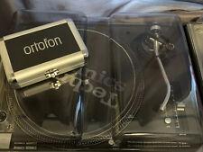 Technics SL-1210MK3D Turntable With Ortofon  Qbert Concorde Stylus Decksaver Lid