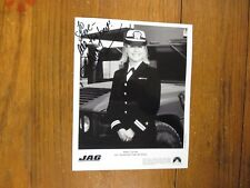 "KARRI  TURNER(""JAG/South Park/The X-Files"")Signed  8 X 10  Black & White  Photo"