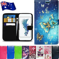 For Alcatel 1C Wallet Case Flip NEW Universal PU Leather Cover Card Pocket