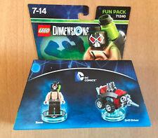 BOITE SET LEGO DIMENSIONS FUN PACK 71240 BANE ET DROID BOMBER DC COMICS BATMAN