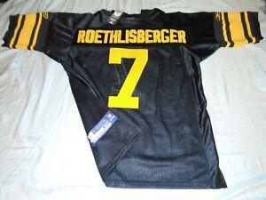 "Pittsburgh Steelers ""ROETHLISBERGER #7"" Reebok Throwback Alternate Jersey (50)"