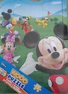 CARG36668-2 - Puzzle Of Drawing Animated Clubhouse Mickey - And Her Friends 12