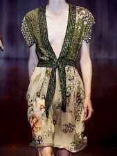 NWT *RARE* $20,000 GUCCI RUNWAY Beaded  Embroidered Gown Couture Dress 40/6