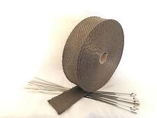 15m Titan Hitzeschutzband bis 1400° 30mm breit,stärker als normales Gewebeband.