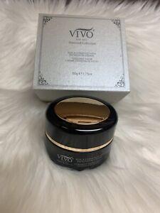 Vivo  Per Lei Black Diamond Collection Line Expression Cream 1.75oz In Box