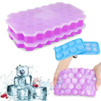 New Ice Balls Maker Tray 74-Cavity Large Sphere Molds Cube Whiskey Cocktails