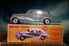 Rolls-Royce Silver Wraith Dinky Toys styled Reproduction BOX ONLY Number 150