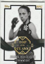 2016 TOPPS UFC TOP OF THE CLASS BASE TOC-9 JOANNA JEDRZEJCZYK